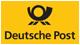 Wir  versenden unsere Ware per Deutsche Post